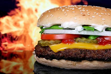 hamburger-gasgrill