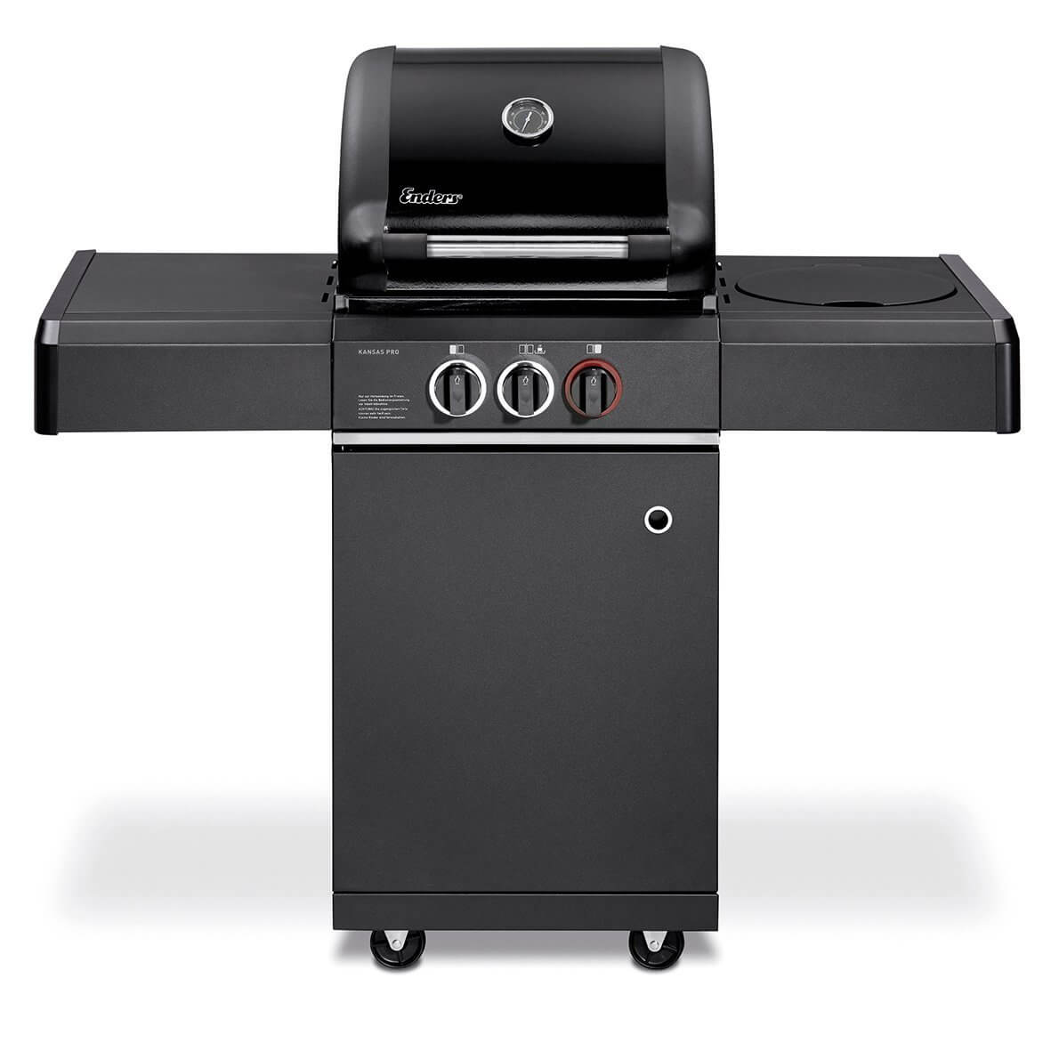 enders kansas black pro 2 k turbo - bester gasgrill
